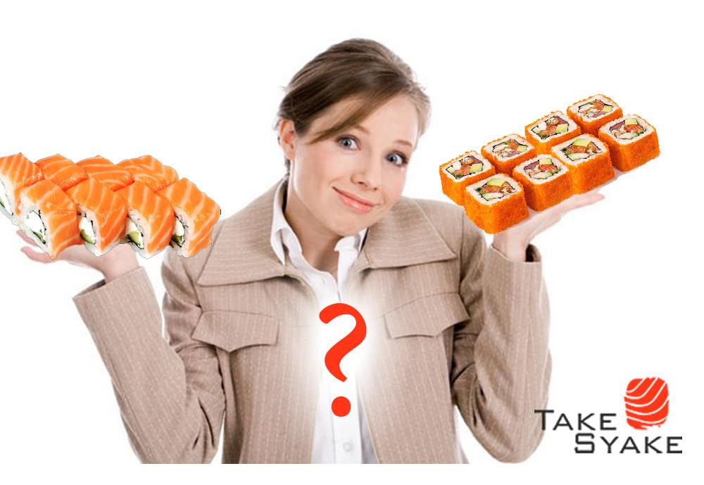 Как выбрать и заказать дешевые суши