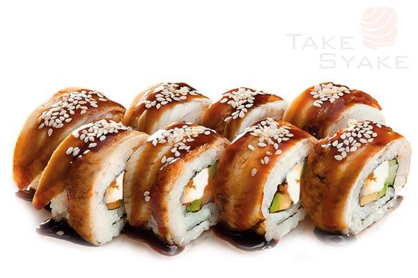 Хидэко ролл. Доставка суши, доставка лапши wok, доставка бургеров. Киев, Борщаговка. Take Syake