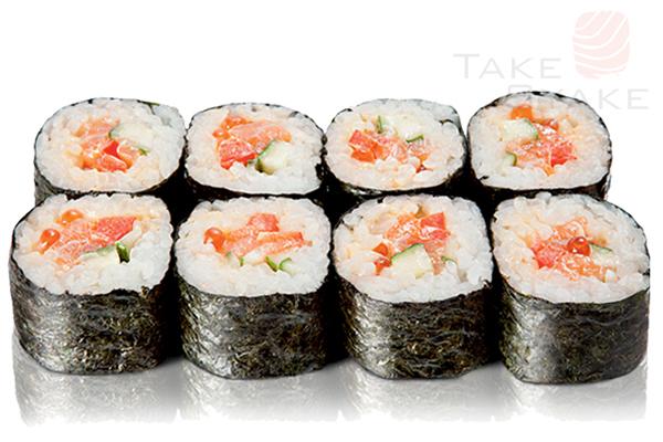Камикадзе ролл. Доставка суши, доставка лапши wok, доставка бургеров. Киев, Борщаговка. Take Syake