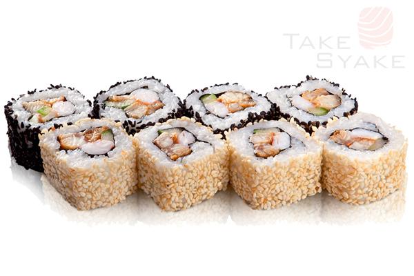 Королевский ролл. Доставка суши, доставка лапши wok, доставка бургеров. Киев, Борщаговка. Take Syake