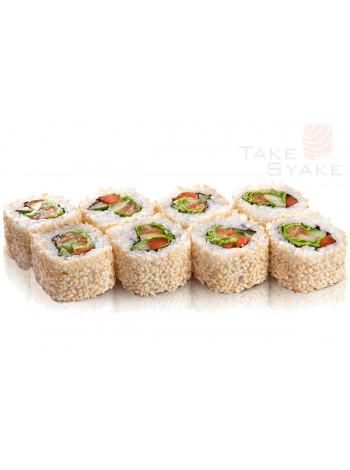Овощной ролл. Доставка суши, доставка лапши wok, доставка бургеров. Киев, Борщаговка. Take Syake