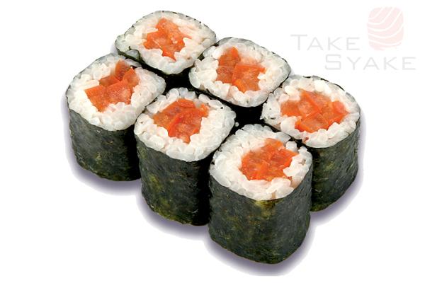 Лосось хк маки. Доставка суши, доставка лапши wok, доставка бургеров. Киев, Борщаговка. Take Syake