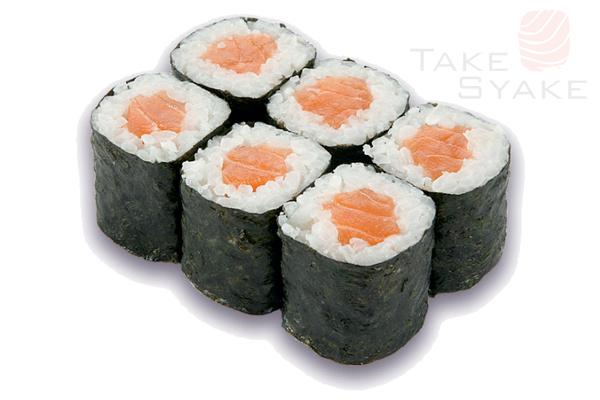 Лосось маки. Доставка суши, доставка лапши wok, доставка бургеров. Киев, Борщаговка. Take Syake