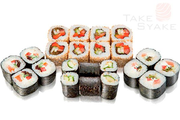 Фитнес сет. Доставка суши, доставка лапши wok, доставка бургеров. Киев, Борщаговка. Take Syake