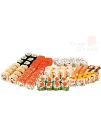 Хоку сет (1785г). Доставка суши, доставка лапши wok, доставка бургеров. Киев, Борщаговка. Take Syake