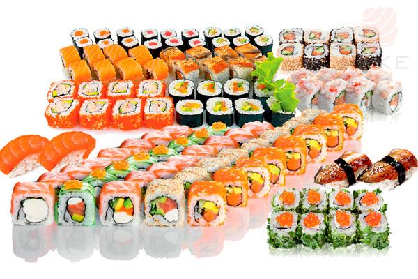 Компания сет (3080г). Доставка суши, доставка лапши wok, доставка бургеров. Киев, Борщаговка. Take S