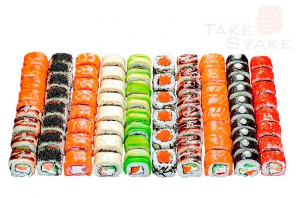 Монако сет (2340г) 80шт Доставка суши сет в Киев, Заказать набор суши, Софиевская Борщаговка