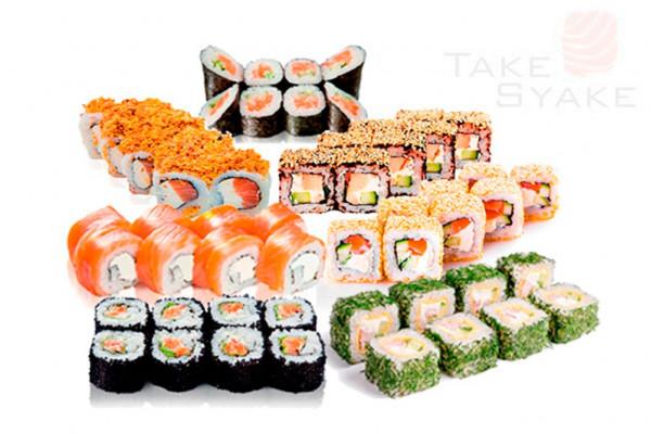 Монтана сет (1440г) 56шт Доставка суши сет в Киев, Заказать набор суши, Софиевская Борщаговка