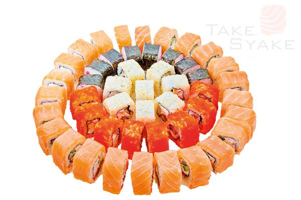 Пикачу сет (1345г). Доставка суши, доставка лапши wok, доставка бургеров. Киев, Борщаговка. Take Sya