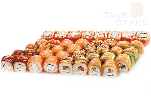 Сакаи сет. Доставка суши, доставка лапши wok, доставка бургеров. Киев, Борщаговка. Take Syake