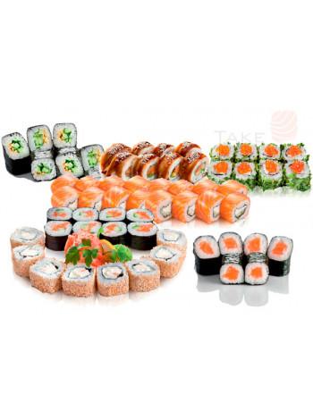 Сакура сет. Доставка суши, доставка лапши wok, доставка бургеров. Киев, Борщаговка. Take Syake