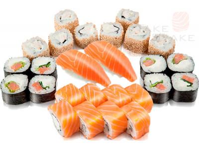 Восточный экспресс сет. Доставка суши, доставка лапши wok, доставка бургеров. Киев, Борщаговка. Take