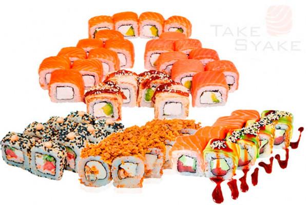 Тойота сет (1370г) 80шт Доставка суши сет в Киев, Заказать набор суши, Софиевская Борщаговка
