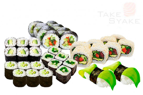 Вега сет (790г) 36шт Доставка суши сет в Киев, Заказать набор суши, Софиевская Борщаговка. Take