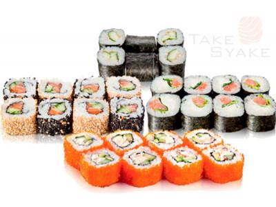 """Суши сет """"Японец"""". Доставка суши, доставка лапши wok, доставка бургеров. Киев, Борщаговка."""