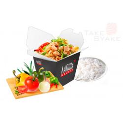Тяхан с овощами (320г)