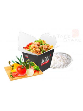 Тяхан с овощами (320г). Доставка суши, доставка лапши wok, доставка бургеров. Киев, Борщаговка. Take